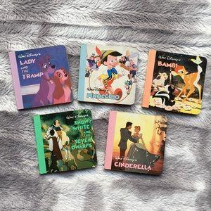 Vintage Disney Mini Book Set